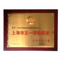 2017上海市五一劳动奖状